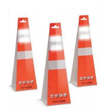 "Buy Disposable 18"" Traffic Cones (Pack of 6 ) on sale online"
