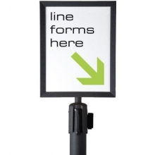 "Line Dividers Sign Frame - 8.5""x11"""