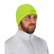 Lime Beanie Cap with LED