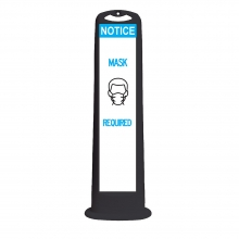 Trailblazer XL Black Vertical Panel - Notice Mask Required