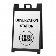 Deluxe Sign Frame - Observation Station