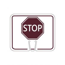 Buy Orange Traffic Cone Sign- STOP on sale online