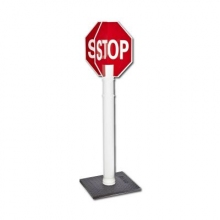 Stop Sign System, Quick Deploy w/Hi Intensity reflective