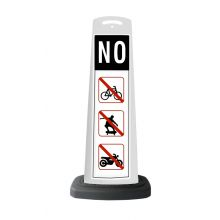 Buy Valet White Vertical Panel NO w/Reflective Sign P37 on sale online