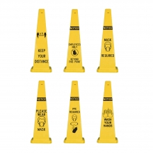 Lamba Safety Cone - Safety Text Options