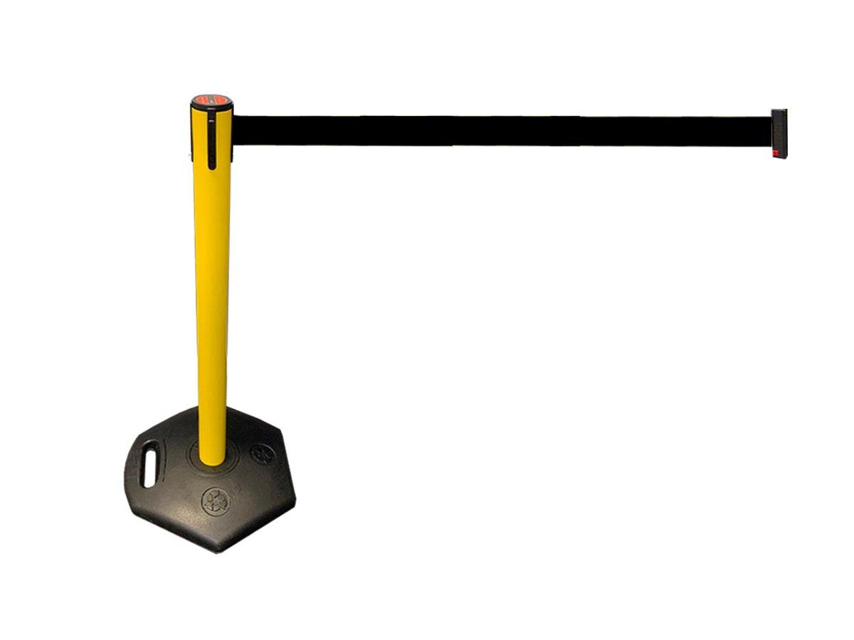 LineDividers Outdoor Retractable Belt Barrier